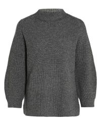 3.1 Phillip Lim - Gray Grey Raglan Chunky Knit Jumper - Lyst