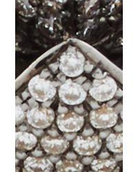 Noor Fares - Metallic Gold And Diamond Geometry 101 Merkaba Ring - Lyst