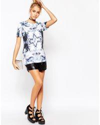 Jaded London - Blue Diamond Zoom T-shirt - Lyst
