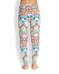 Mara Hoffman | Multicolor Astrodreamer Slouch Jersey Pants | Lyst