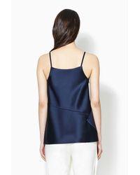 3.1 Phillip Lim - Blue Sash Slip Top - Lyst