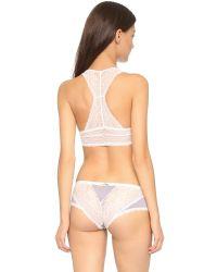 Honeydew Intimates - Pink Carli Lace Bralette - Black - Lyst