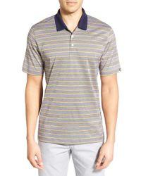 Cutter & Buck   Multicolor 'daylight Stripe' Mercerized Cotton Polo for Men   Lyst
