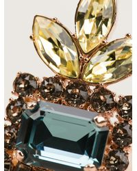 Mawi   Multicolor Embellished Chunky Ring   Lyst