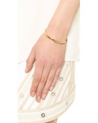 kate spade new york - Metallic Whatever Cuff Bracelet Gold - Lyst