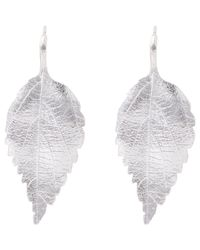 Aurelie Bidermann | Metallic Central Park Drop Earrings | Lyst