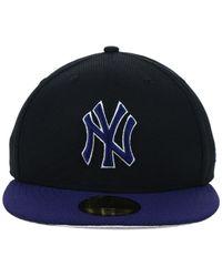 KTZ - New York Yankees Black Diamond Era 59fifty Cap for Men - Lyst
