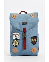 Vans | Blue Monteros Backpack for Men | Lyst