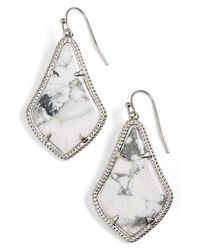 Kendra Scott - Metallic 'alex' Teardrop Earrings - Lyst