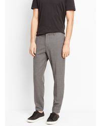Vince Gray Worsted Wool Urban Jogger for men