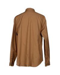 Armani - Natural Shirt for Men - Lyst