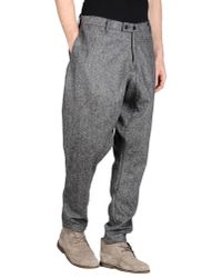 CAMO | Gray Casual Trouser for Men | Lyst