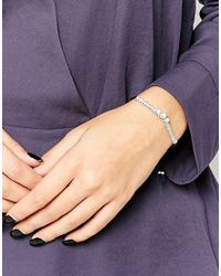 Estella Bartlett | Blue Stardust Carded Friendship Bracelet | Lyst