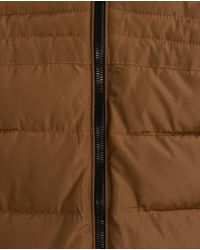 Zara | Brown Quilted Jacket for Men | Lyst