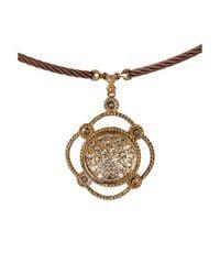 Charriol - Metallic Women'S Celtique 0.10 Tcw 18K White Gold And Gold-Tone Steel Diamonds - Lyst