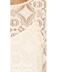 Free People Natural Walking To The Sun Lace Dress - Cream