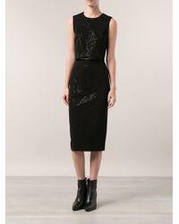 A.L.C. Black 'Lee' Skirt