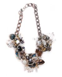 Subversive Jewelry - Multicolor Crystal Wreath Necklace - Lyst