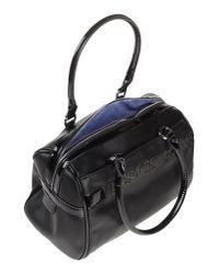 Versace Jeans | Black Handbag | Lyst