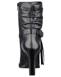 Guess Black Tamsin Slouch Booties