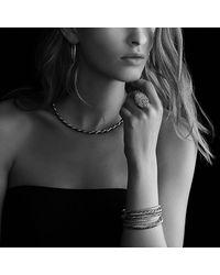 David Yurman - Metallic Confetti Bangle Bracelet With Diamonds In Gold - Lyst