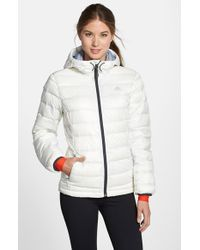 Adidas - White 'frostlight' Climaheat Quilted Down Jacket - Lyst