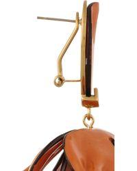 Tory Burch - Metallic Pentier Goldplated Drop Earrings - Lyst