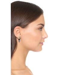 Lulu Frost - Metallic Eartha Stud Earrings - Lyst