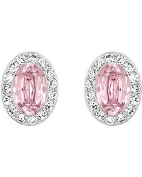 Swarovski | Pink Christie Earrings | Lyst