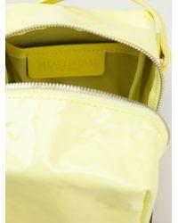 Pleats Please Issey Miyake Yellow Nougat Shoulder Nag
