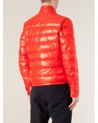 Moncler Red 'Acorus' Padded Jacket for men