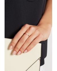 Repossi - Pink Antifer 18-Karat Rose Gold Diamond Ring - Lyst