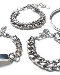 Zara | Metallic Pack Of 4 Bracelets | Lyst