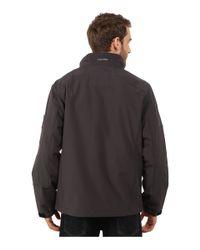 Calvin Klein | Gray Soft Shell Open Bottom Jacket for Men | Lyst
