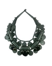 EK Thongprasert | Black Silicone Coin Necklace | Lyst