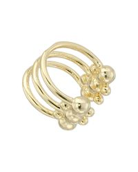 DANNIJO - Metallic Phoebe Ear Cuff Earrings - Lyst