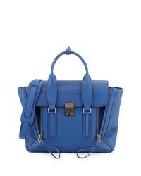 3.1 Phillip Lim - Blue Pashli Medium Leather Satchel - Lyst