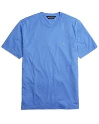 Brooks Brothers | Blue Supima® Cotton Crewneck Tee Shirt for Men | Lyst