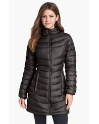The North Face Black 'jenae' Hooded Down Jacket