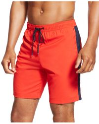 Tommy Hilfiger | Red Drawstring Shorts for Men | Lyst