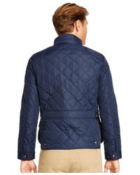 Polo Ralph Lauren | Blue Big And Tall Quilted Bomber Jacket for Men | Lyst