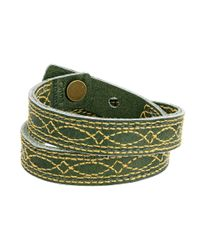 Frye | Green Campus Stitch Cuff | Lyst