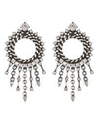 DANNIJO - Metallic Linda Earrings - Lyst