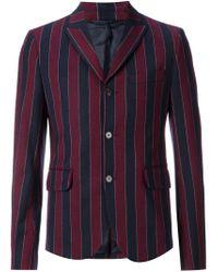 Carven - Blue Striped Blazer for Men - Lyst