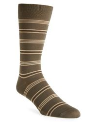 Pantherella | Green 'selwood' Egyptian Cotton Blend Socks for Men | Lyst