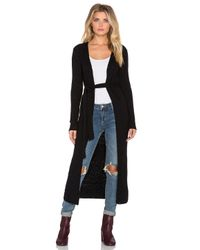 Indah - Black Honey Sash Duster - Lyst
