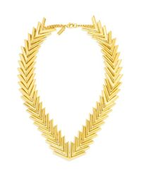 BaubleBar | Metallic 'poisson' Collar Necklace | Lyst