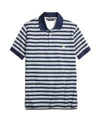Brooks Brothers - Blue Slim Fit Varigated Multistripe Polo Shirt for Men - Lyst