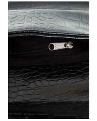 Missguided   Metallic Margaritta Monochrome Roll Down Clutch Bag   Lyst
