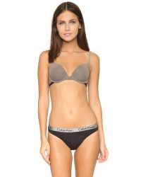 Calvin Klein | Gray Magnetic Force Flirty Push Up Bra | Lyst